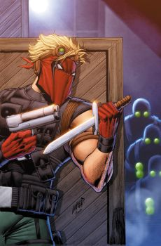 Grifter 10 Cover by drewdown1976