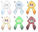 squid adopts batch #2 (CLOSED) by NintenDash