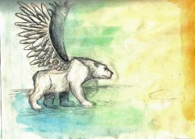 Spirit Bear by Magpies12
