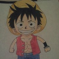 Monkey D. Luffy from One Piece by yahoo201027