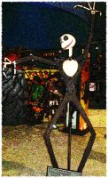 Jack Skellington goes to comic by shutterbugmom