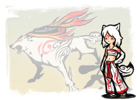 Okami- Cosplay Design by arafel