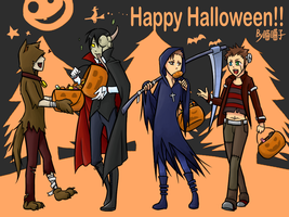 Happy Halloween :D by aulauly7