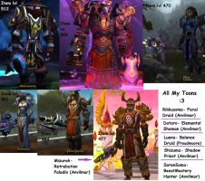 All My Toons :D by 123ffr