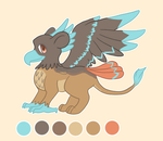 Gryphon Adoptable - CLOSED by Torotix