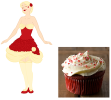 Red velvet cupcaaakes by She-who-shat-bunnies