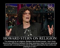Howard Stern on Religion by fiskefyren
