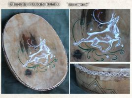 White stags drum by Fladius