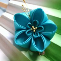 Summer ume kanzashi by elblack
