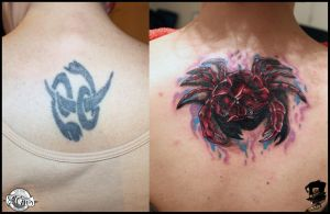 Crab cover-up by DarkArtsColective