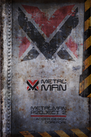 Metal Man Project v2 Logo by r77adder