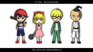 Earthbound: Ready to Fight by Lurxneat