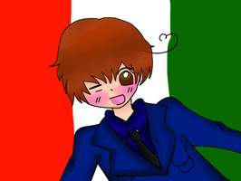 Italy-kun by chicgurl95