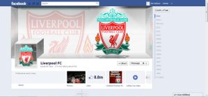 Liverpool FC official Facebook cover by kitster29