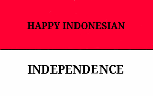 Happy Indonesian Independence! by Henny116