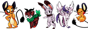 BUNCH OF THE POKEMANS by PRINCESS-CHEZ