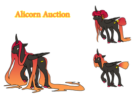 Alicorn Auction :SOLD: by HorizonDreams