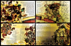 cd booklet illustration by icasialnrdy