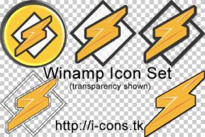 Winamp Icon Set by mmr85