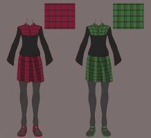 Elementary School Outfits by Voratalis