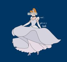 Keep Calm: Cinderella by passionnemode