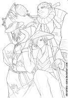 Original: Soul Takers lineart by ShiroiNeko-sama