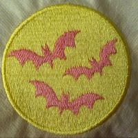 Flutterbat cutie mark patch by AngiKate