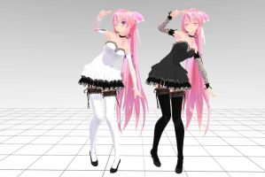 MMD Tda Luka Crasy PonyTail Download !! by InoriAruma
