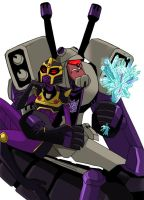 Blitzwing and BlackArachnia2 by piyo119