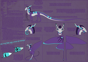 Cryptic Whitby Dragon Refsheet by forrgotenrose