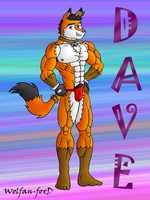 Dave Wolfox -color- by Wolfan-foxD