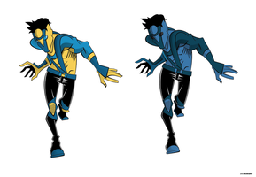 Invincible redesign WIP by 27poker