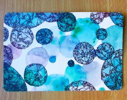 Abstract Geometric Postcard IV by IsabelleMaria