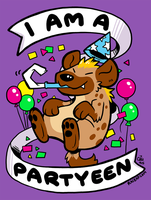 I Am a Partyeen by raizy