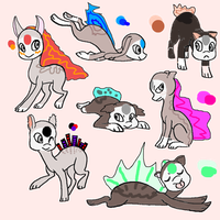 Free Finnedyr Adopts! [CLOSED] by fifi2318