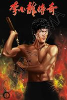 Bruce Lee by hisui1986