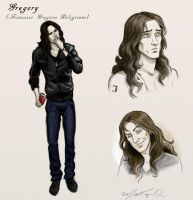Gregory's sketches by Matiazi