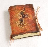 Small unicorn journal by gildbookbinders