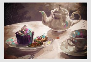 After 30 Noons Tea by Arrrkal