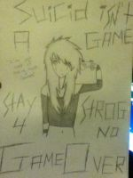 Stay strong 4 no game over by Kay-xP-J14