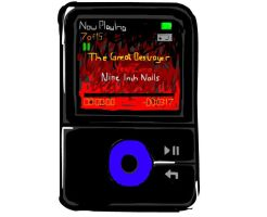 My MP3 player by VIpJoe