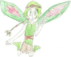 Flygon Person by WhitePearlVoice