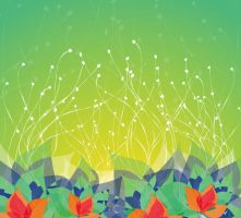 Dream-Colored-Flower by vectorbackgrounds