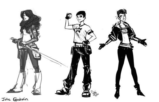 Abandoned Character Designs by friedsashimi7
