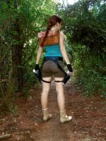 Lara Croft backward by Val-Raiseth