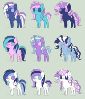 DiamondArmor Shipping Adopts by ZoruaAndVictini
