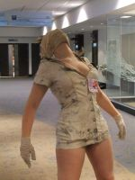Silent Hill Nurse cosplay 1 by Shiroyuki9