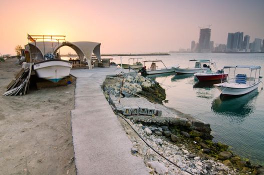 Bahrain Docks2 by VincerePhotography