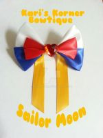 Sailor Moon Inspired Bow by aidahayou