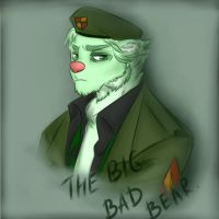 The Big Bad Bear by Inexpressif